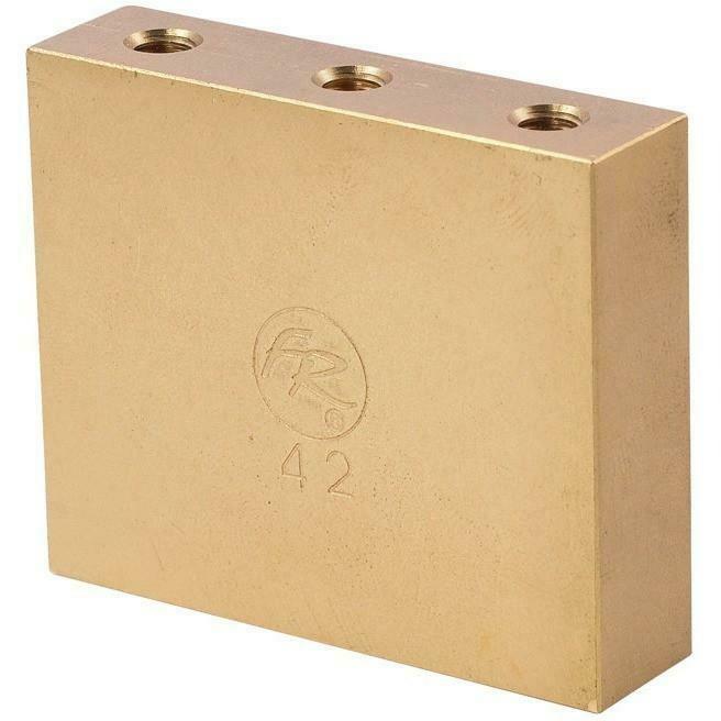 Original Floyd Rose Fat Brass Tremolo Block 42mm