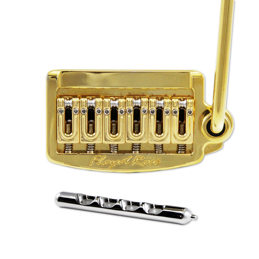 "Floyd Rose RT300N Gold Rail Tail Tremolo Narrow String Spacing 2 1/16"" ( 52mm )"