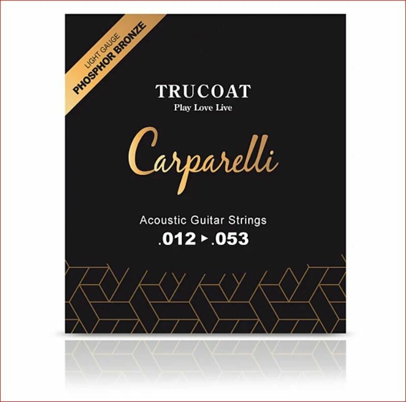 Carparelli Acoustic TruCoat String (012-053)