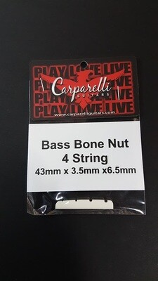 4 String Bass Bone Nut 43mm