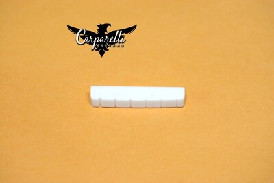 Carparelli Guitar Nut Bone SLotted 42mm for Gibson Les Paul Epiphone or similar