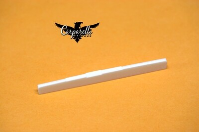 Carparelli Bone compensated classical acoustic guitar saddle / bridge white 80mm x 3mm x 9mm