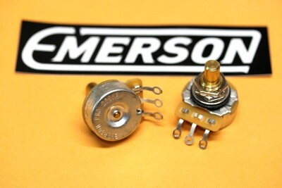 "250K-OHM EMERSON PRO CTS (AUDIO TAPER – 0.375"" Short Solid Shaft"