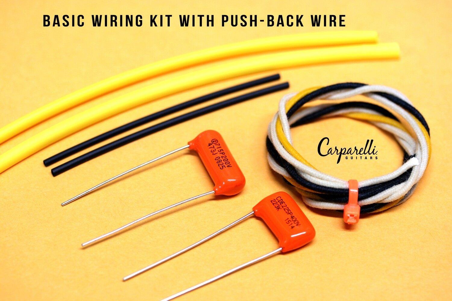 Basic Wiring Kit with Push Wire, Caps & Heat Shrink