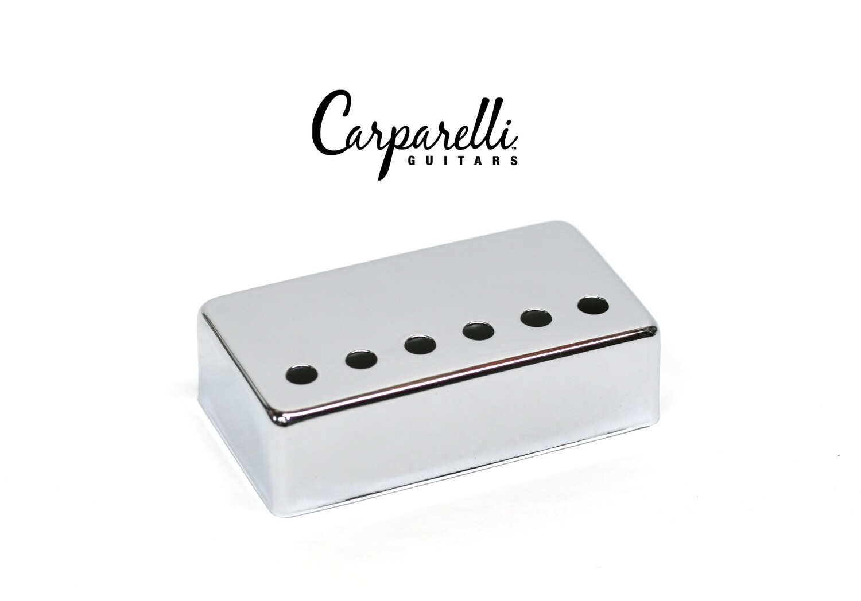 1 x Carparelli Chrome NIckel Silver Humbucker Cover 50mm -
