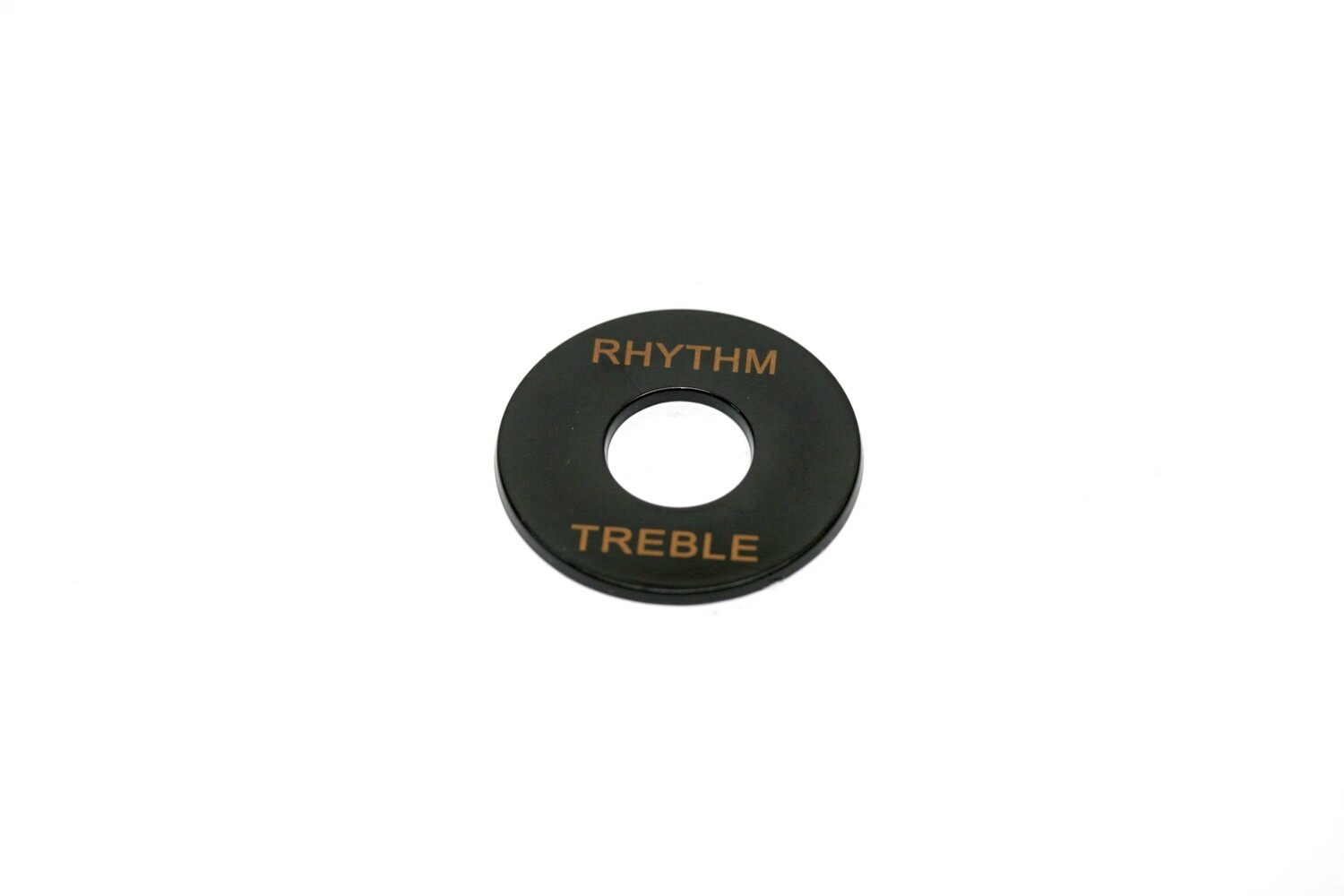Plastic Rhythm/Treble Ring - Black