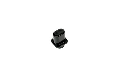 Top Hat Switch knob for Tele® fits USA switch, Black.