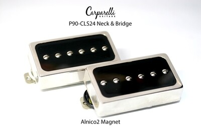 Carparelli P90- CLS24 SET Neck & Bridge