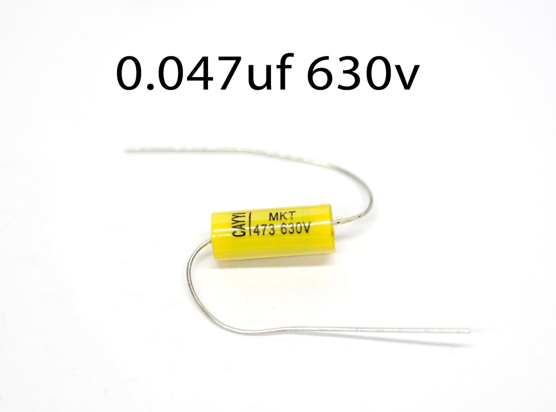 Brio 2 x Yellow Jackets 0.047uf 630v Capacitors Guitar/Amp