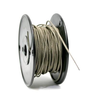 Premium USA Vintage Stranded Core Push-back Cloth Wire Braided Mesh