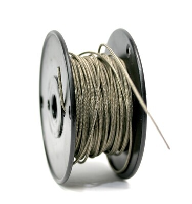 50ft Premium USA Vintage Stranded Core Shielded Push-back Wire