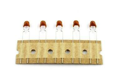 .001 MFD Ceramic Disc Capacitors pack of 5