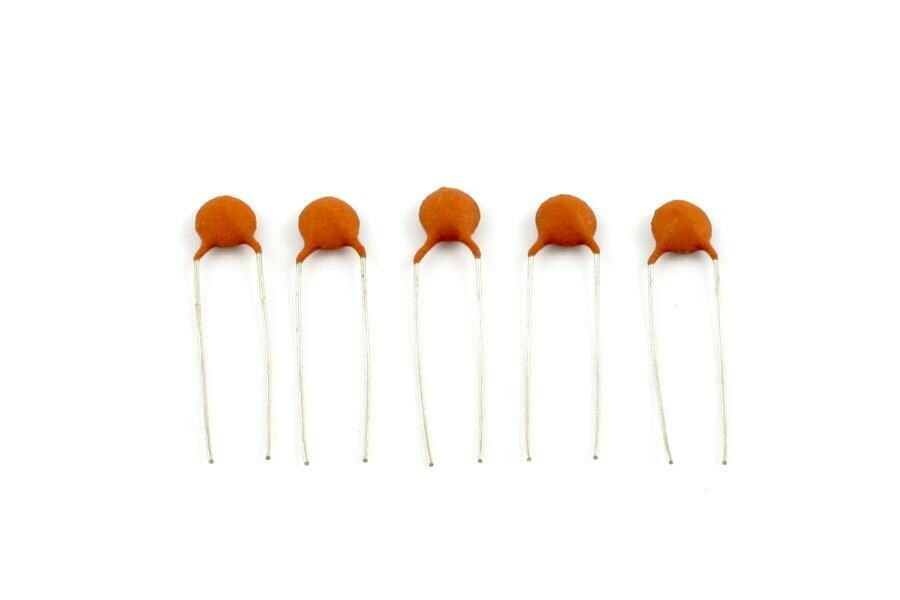 .047 MFD Ceramic Disc Capacitors pack of 5