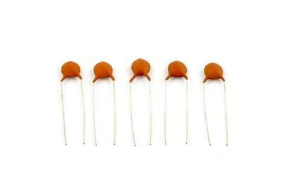 .033 MFD Ceramic Disc Capacitors pack of 5