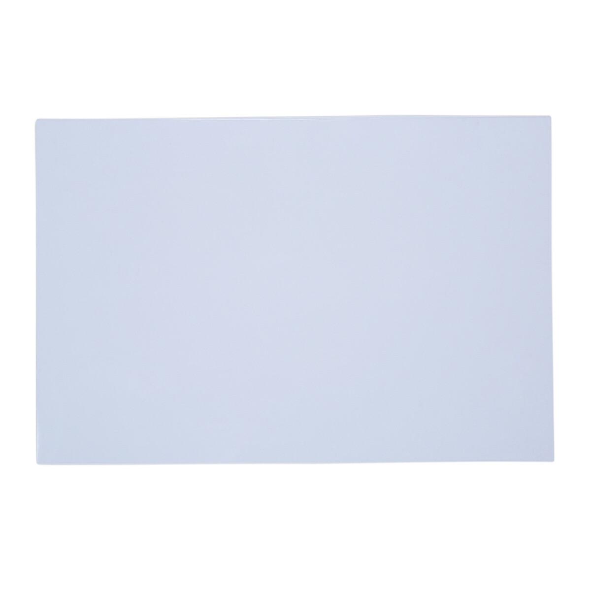"Brio Pickguard Blanks 12"" x 17"" 1 Ply White"