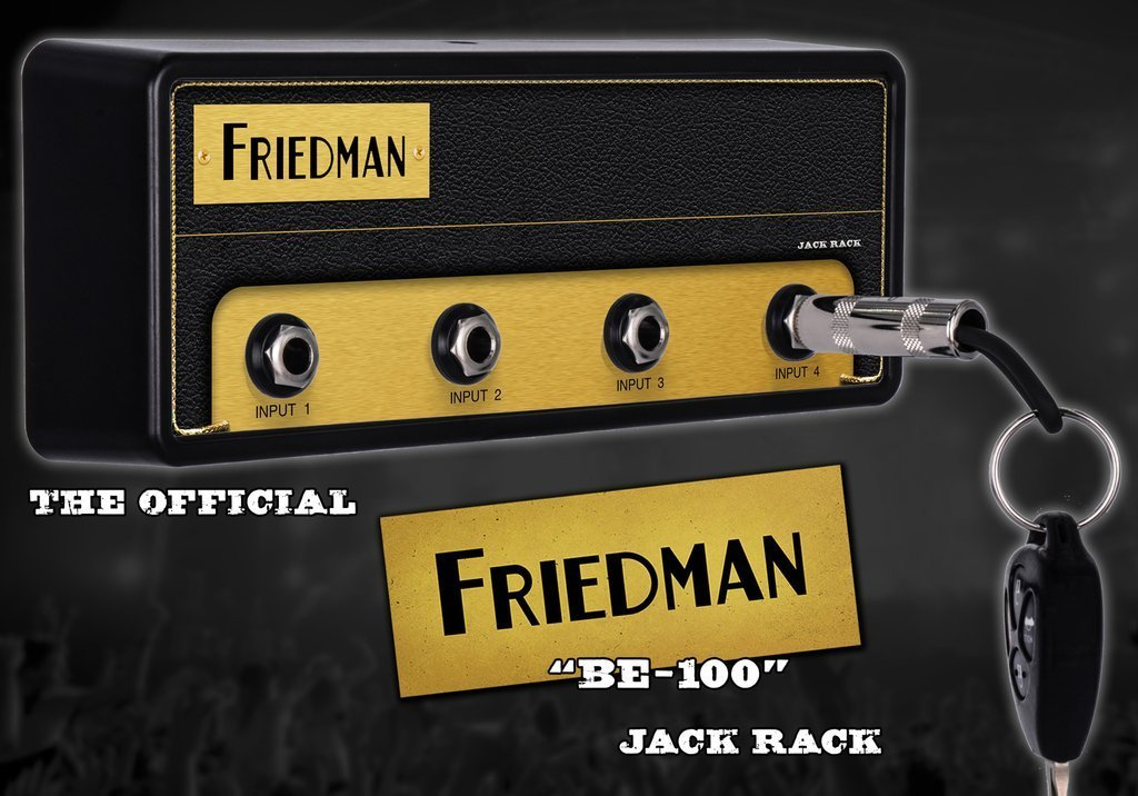 "Official licensed FRIEDMAN ""BE-100"" Amplification"