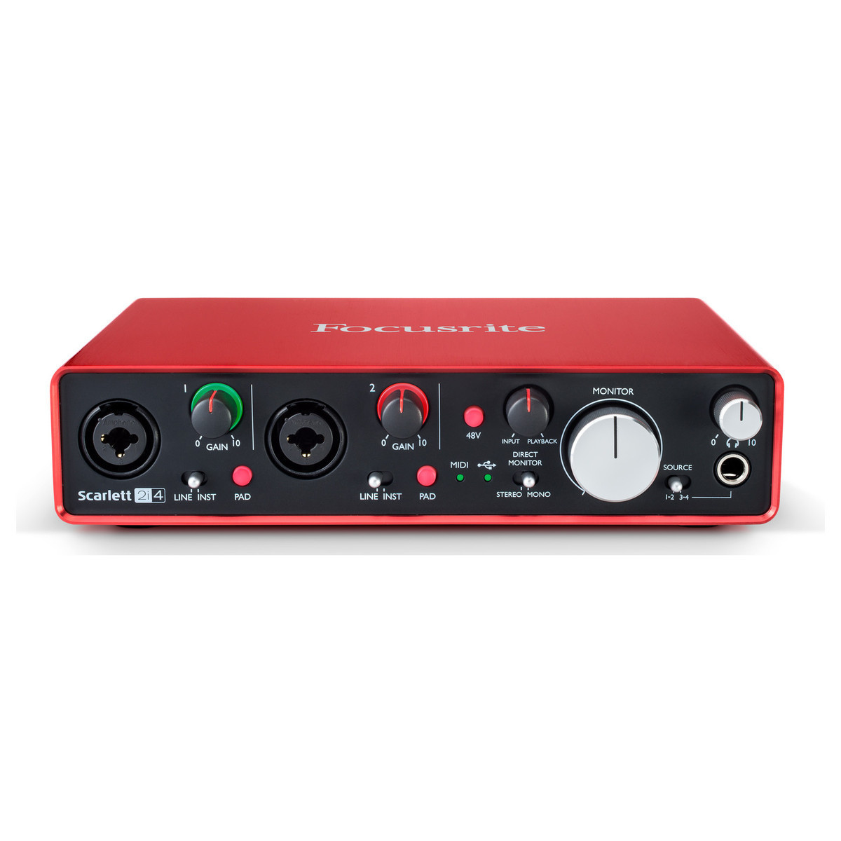 Scarlett 2i4 Focusrite - slightly used