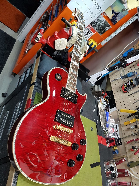 Carparelli S3 Cherry Red Serial #006