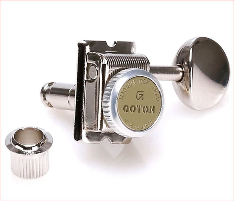 Gotoh SD91-MGT 6-in-line Vintage Style Locking Tuners