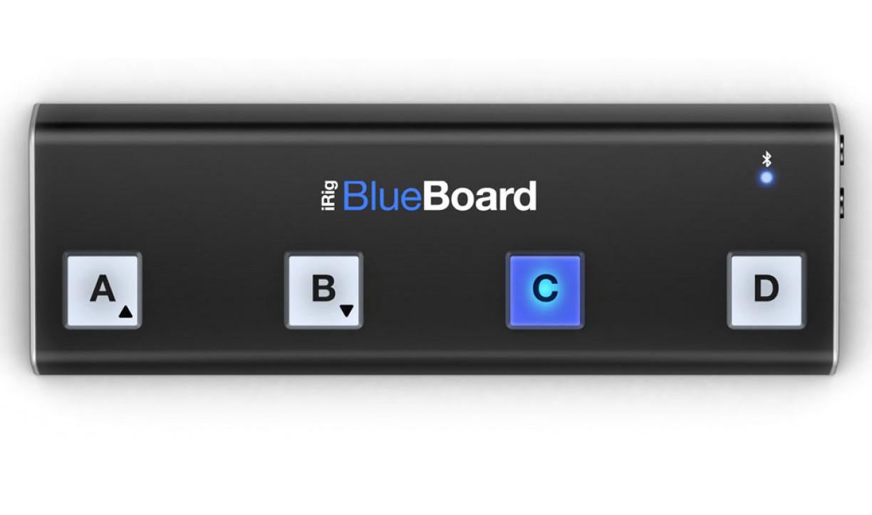 IRig Blueboard Bluetooth Pedalboard/ Pageturner For Mac/IOS - Slightly Used