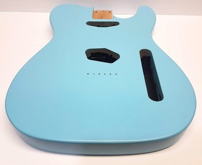 Tele Body Boom Blue Satin 3pc Alder 4.8lbs