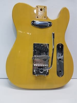 Tele Body Poplar with Stetsbar Pro II Chrome