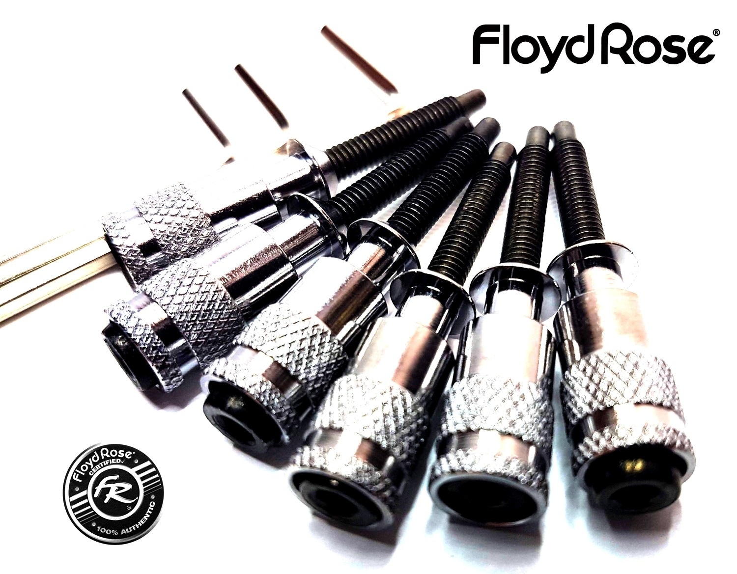 Intonation Floyd Rose Hollow Points Chrome