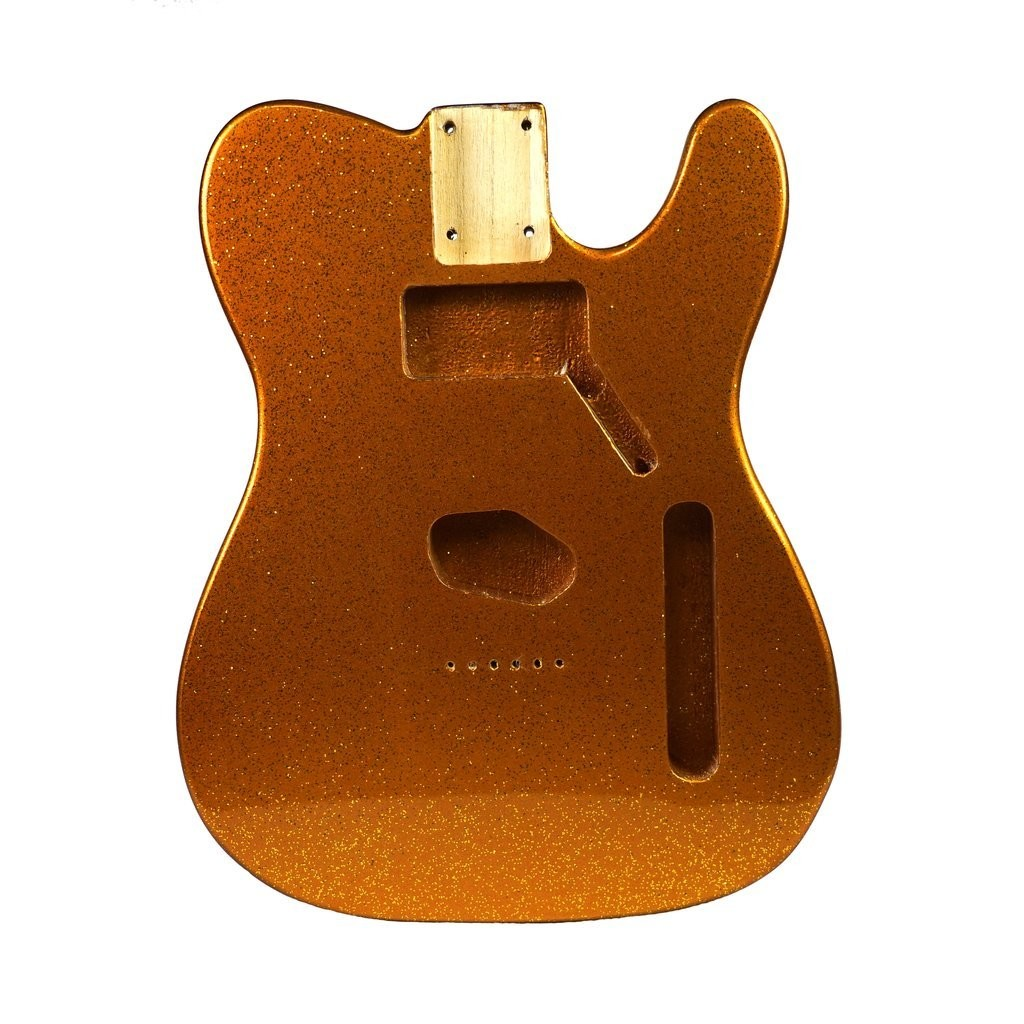 Eden Alder Wood Body Hardtail HS for Telecaster Guitar Gold Sparkle Finish