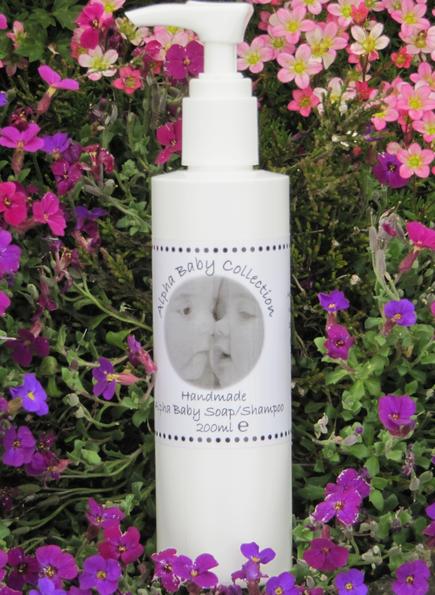 Alpha Baby Soap & Shampoo (20ml) 00036