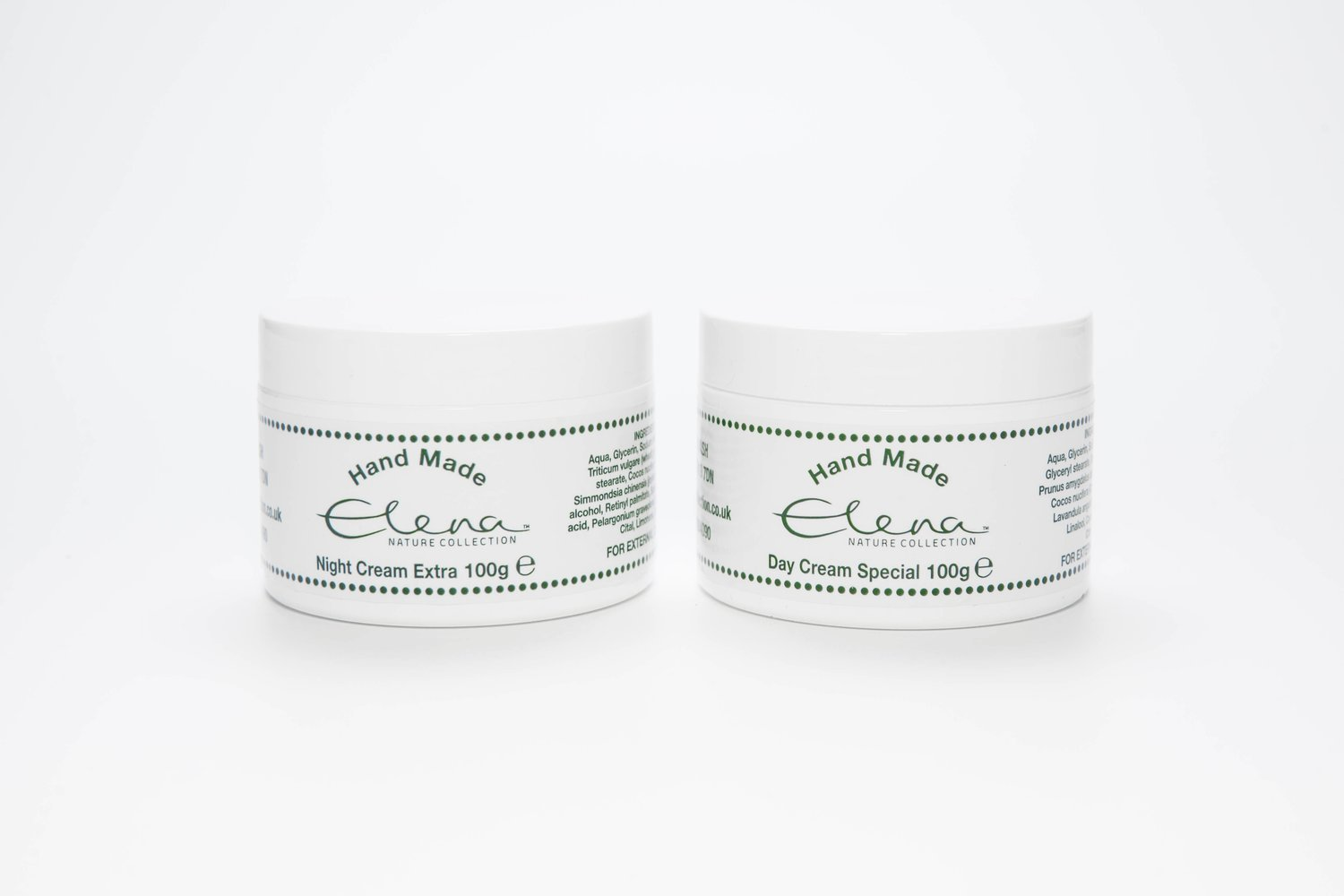 Day Cream Special & Night Cream Extra (100g each)