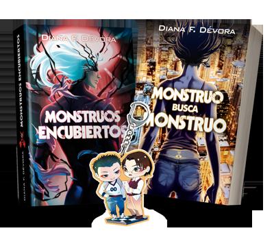 Pack MBM + Monstruos Encubiertos + REGALO LLAVERO