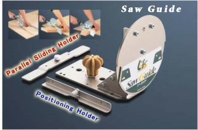 Fixed saw guide