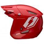 Jitsie HT1 polycarbonate Helmet Red- Umix