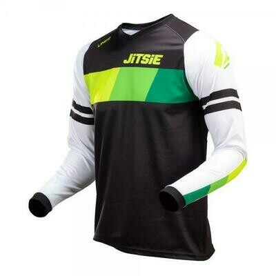 New* Jitsie l3 lines jersey Green/Black/White