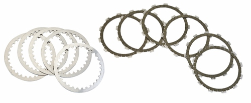 Clutch Disc Set (Friction & Steel) - Sherco - Surflex - 11 Pieces