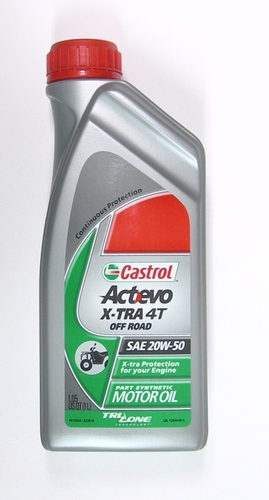 Castrol Actevo X-TRA Synthetic  Off-Road 4-Stroke Oil (Liter)