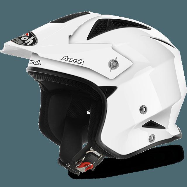 Airoh White TRR- Helmet