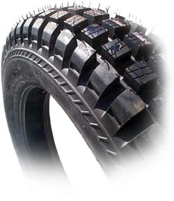 Tire, Rear, IRC - (Tubeless TR11 Competition)