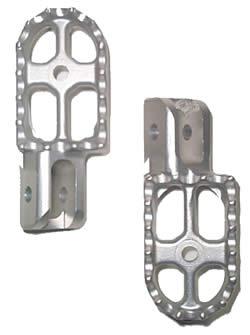 Aluminum Footpegs - Cast - Tryals Shop Series 3 - (Set of 2)