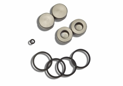AJP Hydraulic Front Brake Caliper Rebuild Kit - (4-piston)