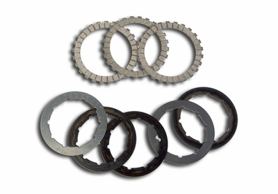 Clutch Disc Set (Friction & Steel) - Gas Gas - Surflex - 8 Pieces