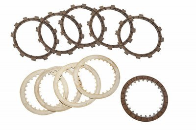Clutch Disc Set (Friction & Steel) - Fantic - Newfren - 10 Pieces