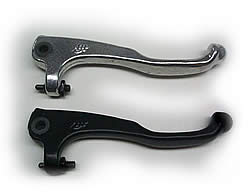 AJP Hydraulic Brake Lever - Short Style - Chrome or Black