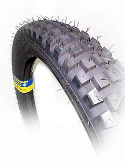 Tire, Front, Michelin - 80/100-21 X-LITE (Tube-Type)