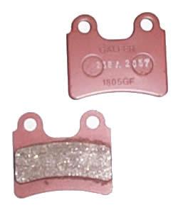 Galfer Brake Pads - Front - (4-piston) - Scorpa SY