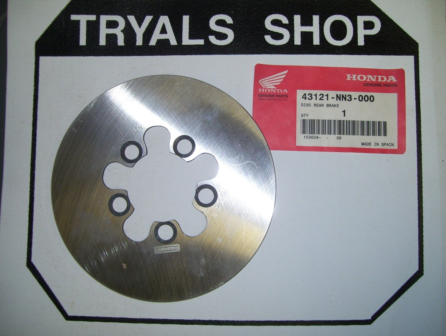 Montesa Rear Brake Disc