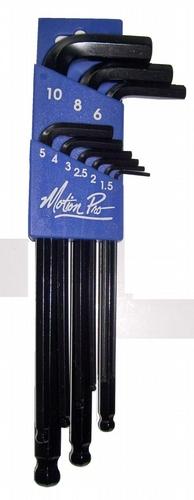 Motion Pro Ball End Allen Set - 9 Piece Metric Hex Keys