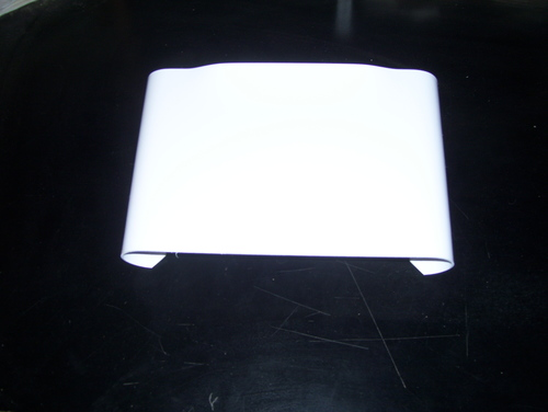 Snap-Around Number Plate - White or Black