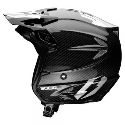 Helmet - Carbon Jitsie HT2 - Black/Silver