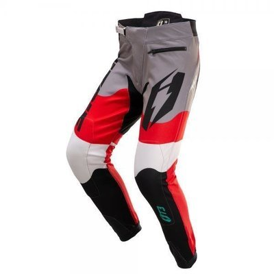 Jitsie T3 Wave Pant Red/ White